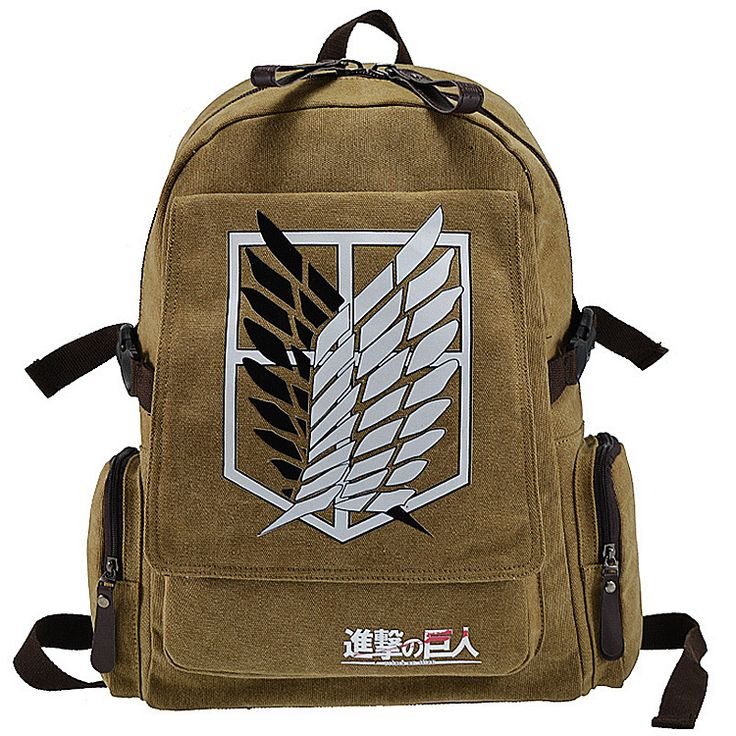 Attack On Titan Backpack Australia - Free Shipping Worldwide