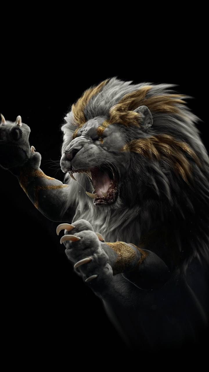 Download Lion Wallpaper By Dathys C8 Free On Zedge Now Browse Millions O Lion Wallpaper Lion Painting Lion Images