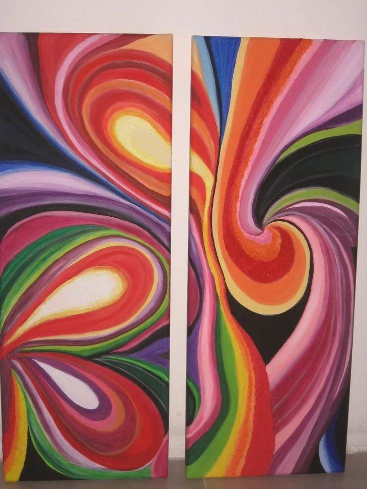 Pinturas abstractas cuadros modernos y minimalistas for Imagenes cuadros modernos