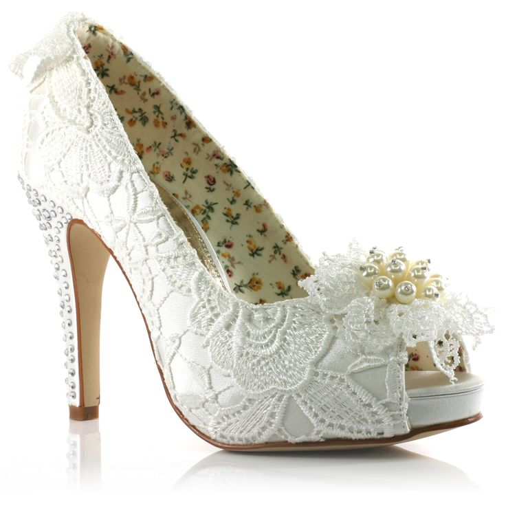 elegant wedding shoes to complete your style