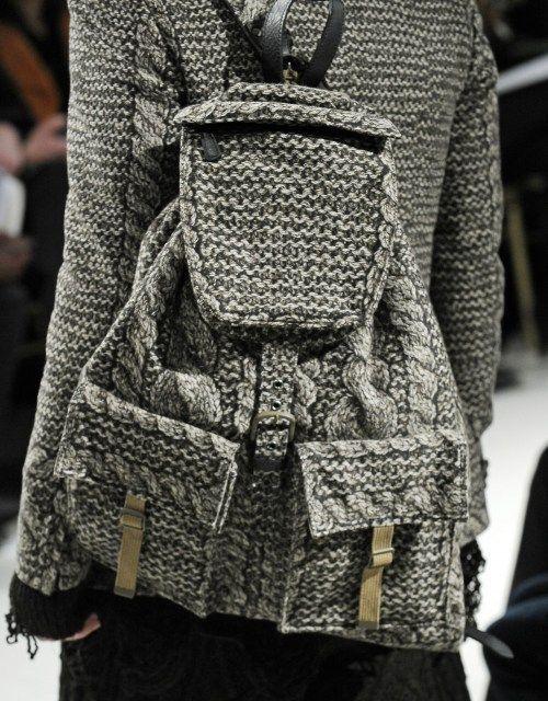 Рюкзак для вяжущих / Вязание /