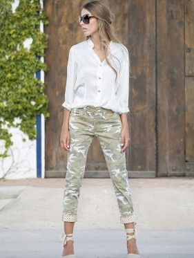 Mimetic Trousers | by MORGANA Italy