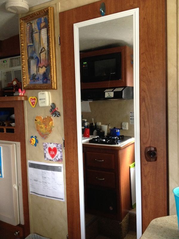 Now I Have A Riverside Retro 155 Travel Trailer That Been Living In For The Last 4 Months At Local Mobile Home Park On River Naples Florida