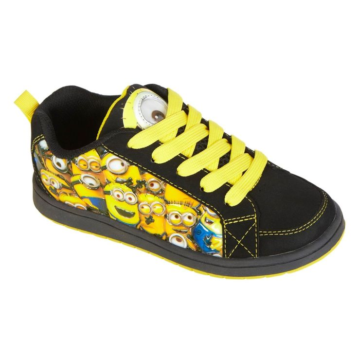 minion shoes andres wants shoes minion