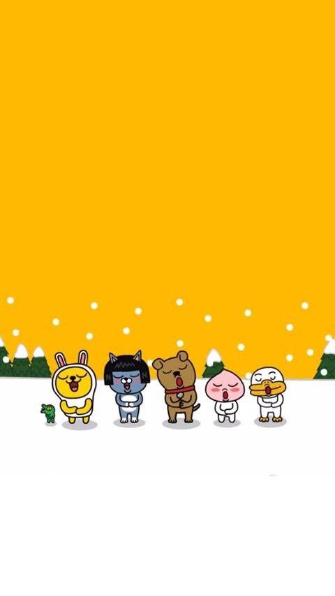 Kakao friends Winter