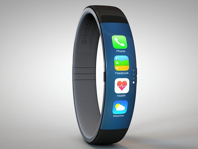 iWatch Concept. Animation demonstrating how the iWatch could potentially work. Check out my site for more details and hi-res images: http://...
