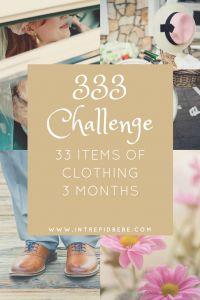 Project 333 Intrepid Bebe Challenges - Intrepid Bebe