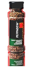 Peppadew® Sweet Piquanté pepper and cilantro seasoning    Description    A versatile seasoning with a hint of sweet Piquanté peppers, cilantro and lemon. Use generously on any pasta, seafood or vegetable dishes. Great on melted cheese and eggs.