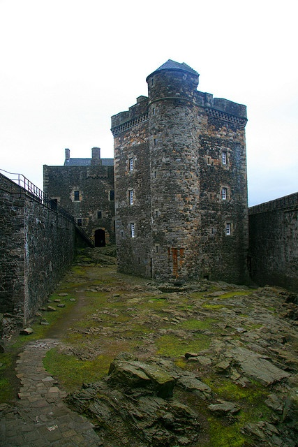 Blackness Castle is a 15th-century fortress, near the village of Blackness, Scotland, on the south shore of the Firth of Forth. It was built, probably on the site of an earlier fort, by Sir George Crichton in the 1440's.