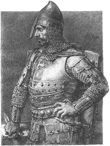 Konrad I Mazowiecki of Poland enlists aid of Teutonic Knights in a Crusade against the Prussians and Wends.jpg
