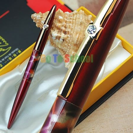 Пикассо 988 мир во всем мире красный с капюшоном F перьевая ручка с оригинальной коробка бесплатная доставка