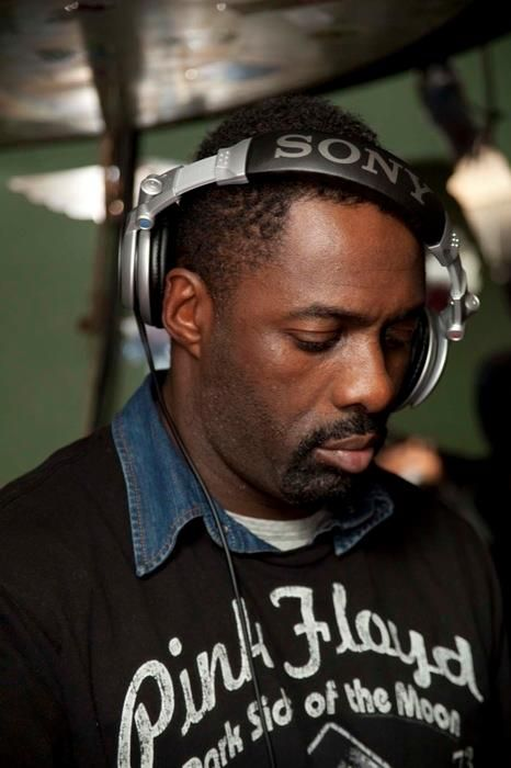 Idris Elba cultivating the groove…