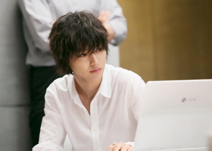 "Kento Yamazaki, BTS, J drama series ""Death Note"", 08/02/'15 [Ep. w/Eng. sub] http://www.dramatv.tv/search.html?keyword=Death+Note+%28Japanese+Drama%29"