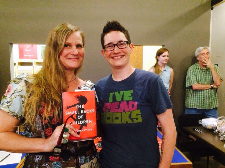 Bookseller & Lidia Yuknavitch