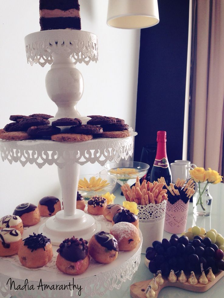 Dessert Table with donuts