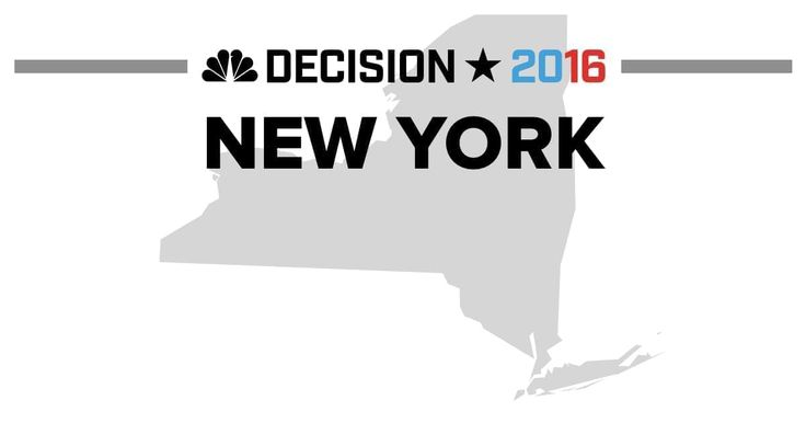 Presidential election results from the 2016 New York Democratic Primary and New York Republican Primary on April 19