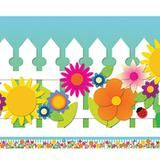 Spring Garden Bulletin Board Border, Straight
