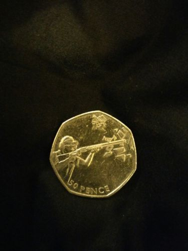 #Olympic 50p coin #shooting,  View more on the LINK: 	http://www.zeppy.io/product/gb/2/112200245431/