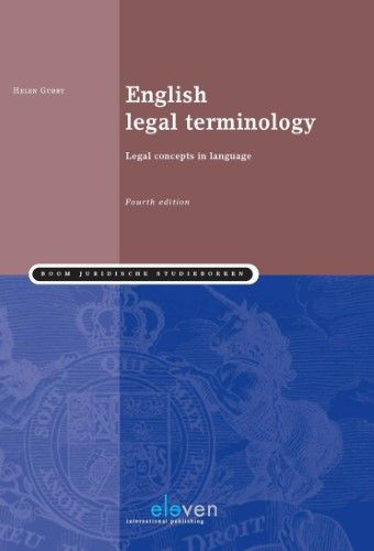 English Legal Terminology Legal Concepts In Language Fourth