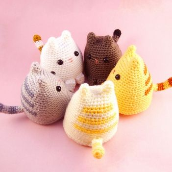 downloaded April 11/ 16 Dumpling Kitty amigurumi pattern
