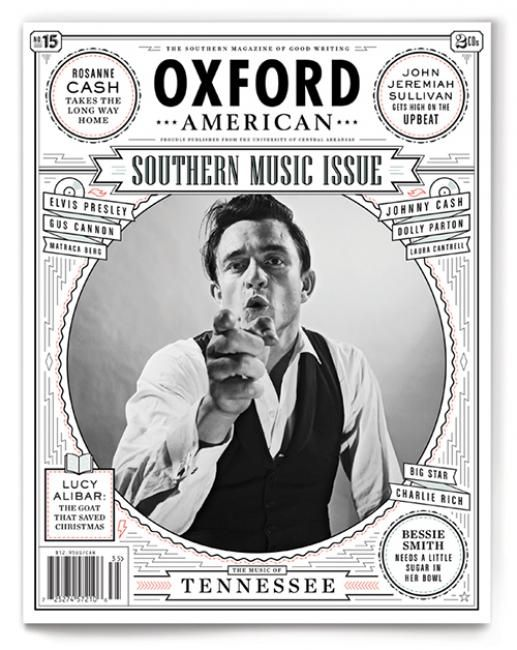 Oxford American....national magazine dedicated to featuring the very best in Southern writing while documenting the complexity and vitality of the American South.""