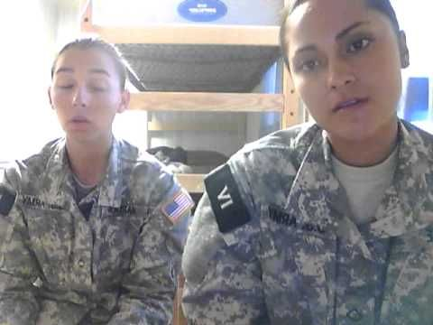 Reception week of Army basic combat training - YouTube Really freaking informative, especially from a female's point of view.