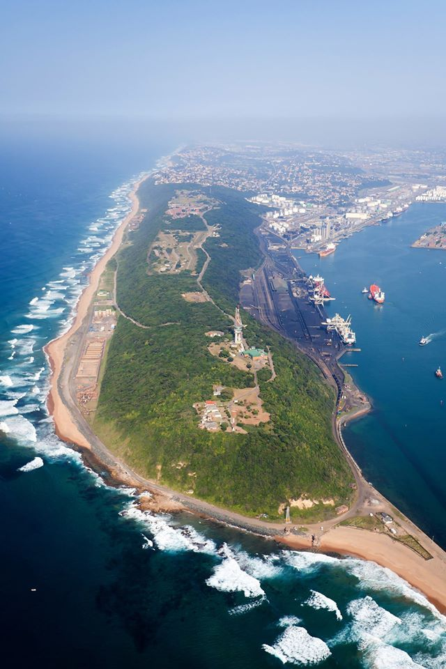 The Bluff in Durban Falaza is less than 3 hours from Durban and offers luxury 4 star tented accommodation. http://falaza.co.za/