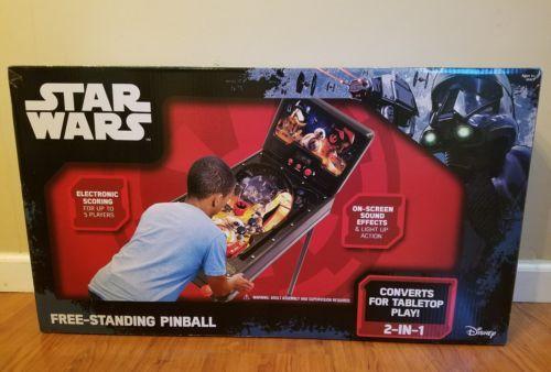Star Wars Rogue One Free Standing Pinball Game 2-N-1 by JAKKS 2016