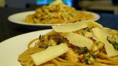 Polskie South Beach: Spaghetti z małżami