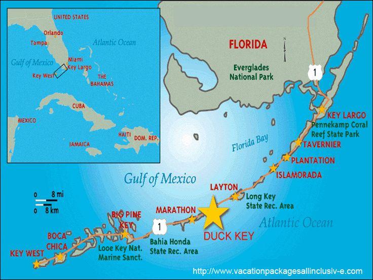 Florida Keys Tourism Map