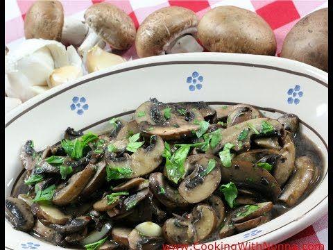 Sauteed Mushrooms - Funghi Saltati