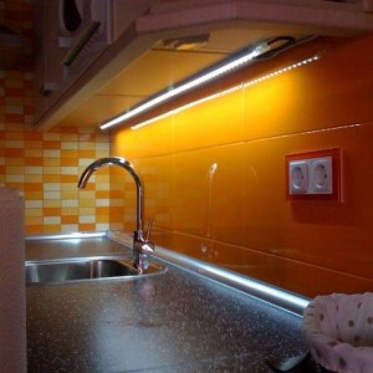 72 best Iluminación en la Cocina images on Pinterest   Cocina ...