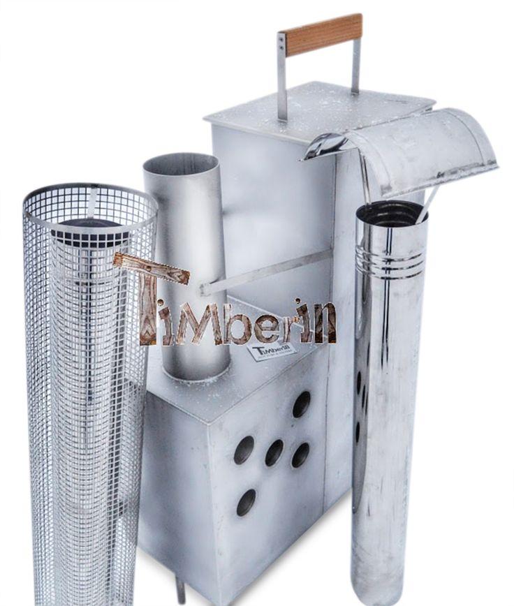 stufa Interni in acciaio inossidabile per vasche idromassaggio