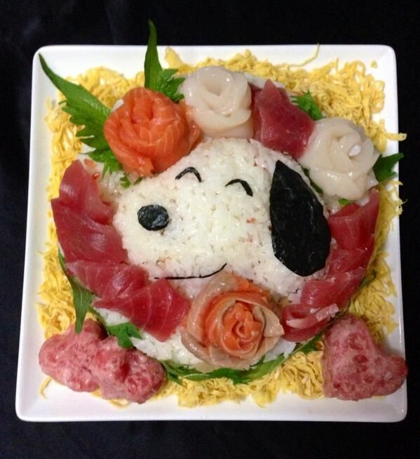 Snoopy Sushi