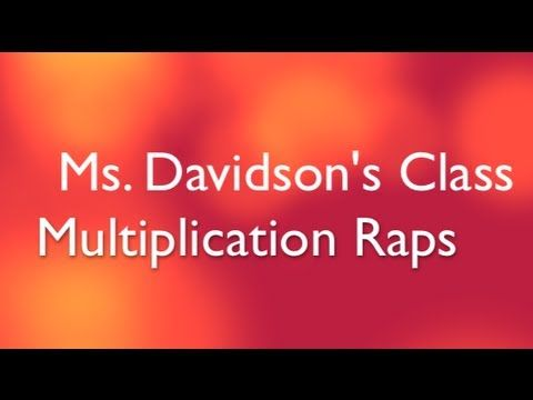 Multiplication Raps: This is SO happening!