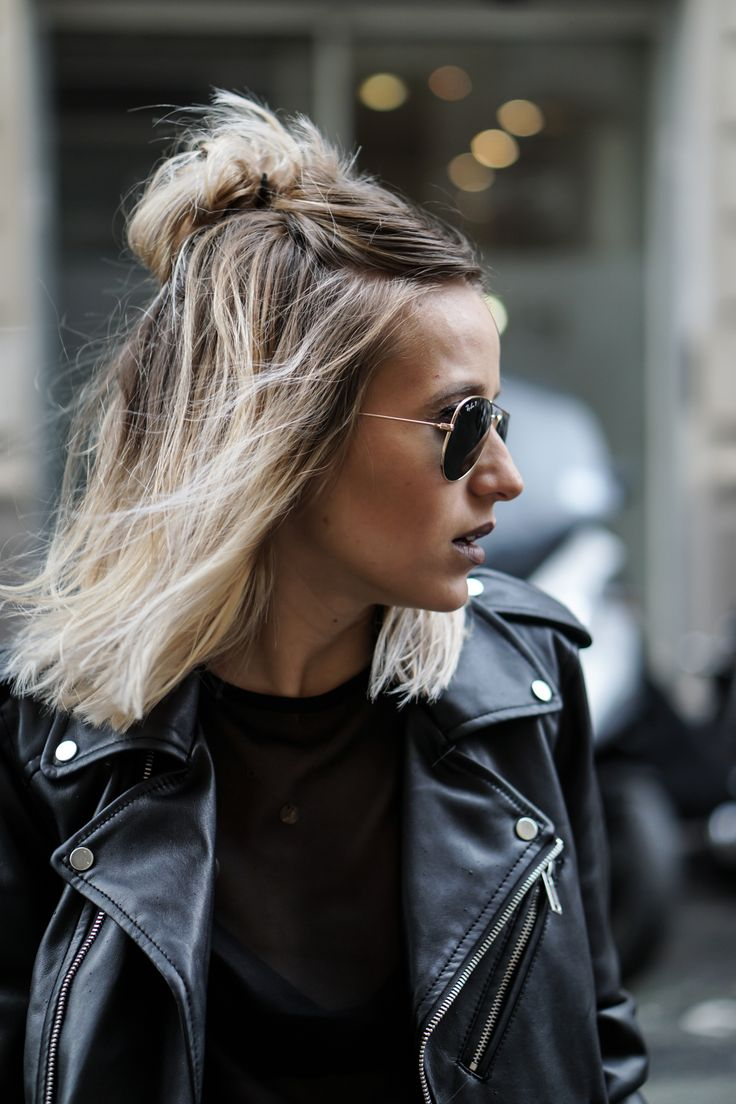 25 Best Ideas About Half Bun On Pinterest Hair Inspo