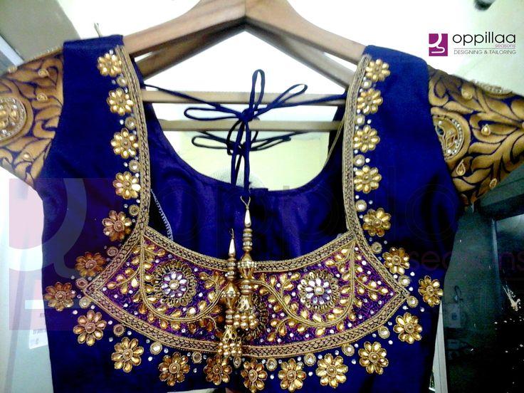 22 Trending Cutie Pie Bridal Blouse Designs for Your Dream Wedding…!!! #Ezwed #Blouse #Designs #Brides