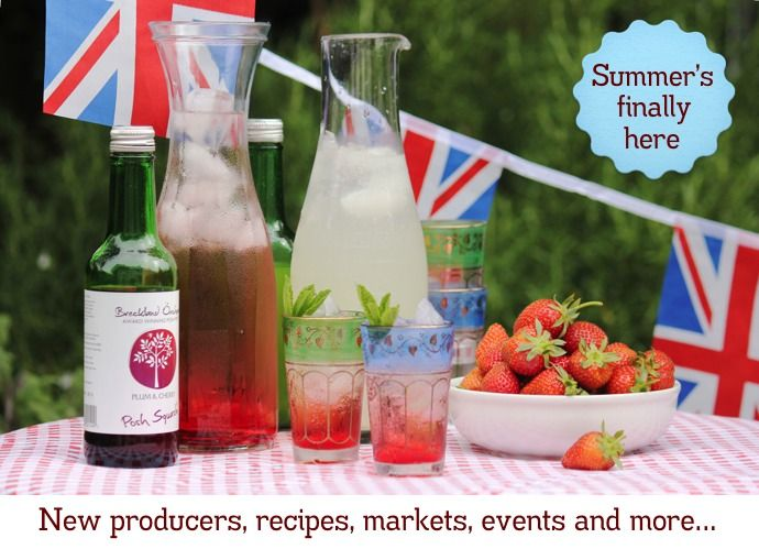 AFT Newsletter June 2012 –––– Well, it's the start of a very British summer, kicking off this weekend with the Queen's Jubilee Celebrations. We at The Artisan Food Trail have already pinned up the bunting and have the garden decked out for our weekend festivities (which includes Breckland Orchard's new Posh Squash).