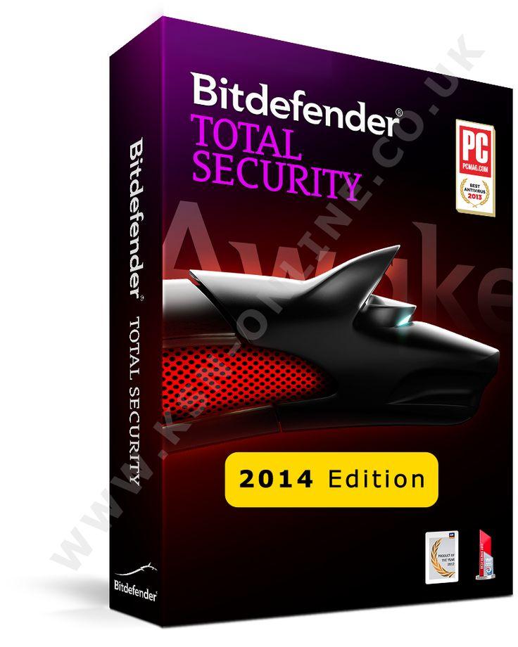 Bitdefender Total Security 2014 License key + Lifetime Activator