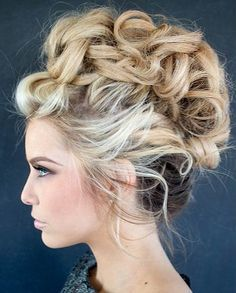 Messy up do for women ( very advanced)