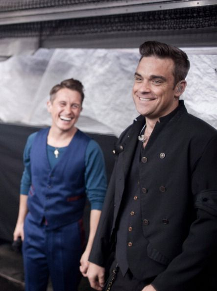 Robbie Williams and Mark Owen. I think you know why.