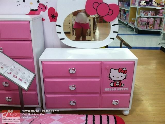 meja rias hello kitty, Model Meja Rias Hello Kitty , pusat produksi meja rias modern , minimalis dan desain mewah, mebel jepara,