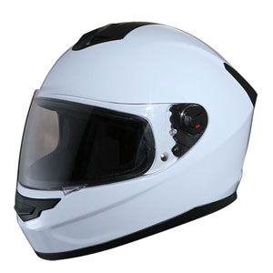 Mũ bảo hiểm fullface Royal M07 trắng bóng