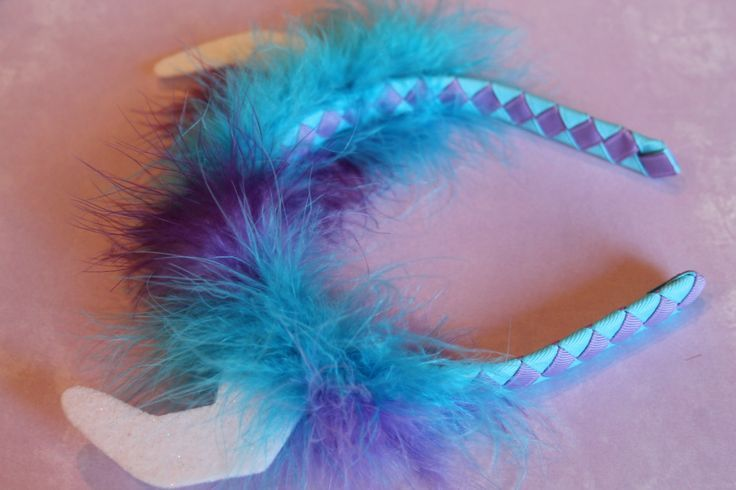Sully inspired headband | My creations | Pinterest