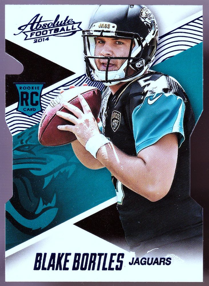 JACKSONVILLE JAGUARS 2014 ABSOLUTE BLAKE BORTLES BLUE ROOKIE NMMT CONDITION #JacksonvilleJaguars