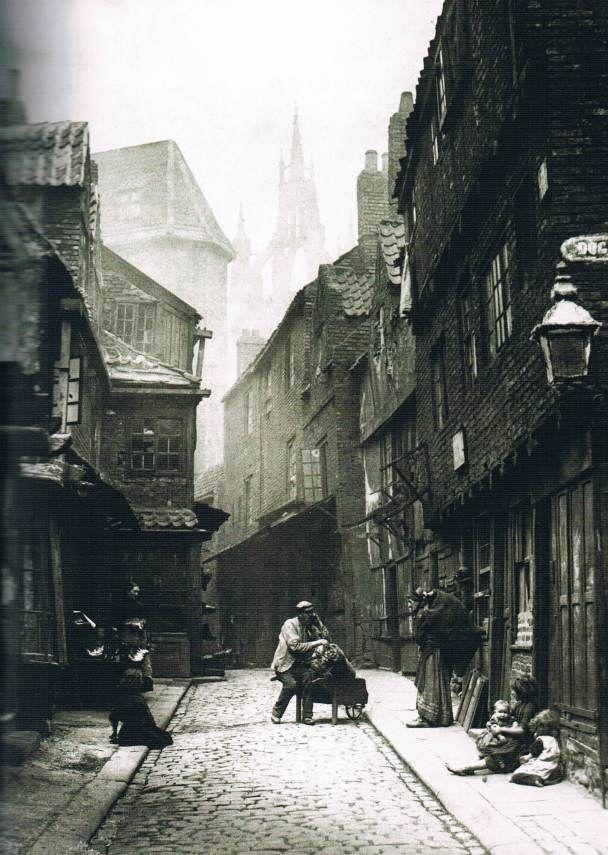 Victorian street-life