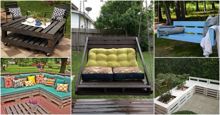 23 Super Smart Ideas To Transform Old Pallets Into Functional Outdoor Furniture - http://www.diyartdesign.com/23-super-smart-ideas-to-transform-old-pallets-into-functional-outdoor-furniture