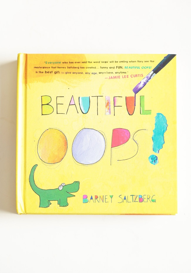 Beautiful Oops! Childrens Book 12.99 at shopruche.com. This wonderfully interactive children's book to teach your child that its OK to make mistakes. This books shows little readers that an accidental rip of paper can become something beautiful, a smudge of paint can become something extraordinary, anything...
