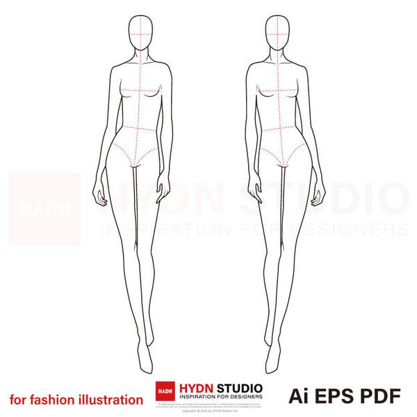croquis female template templates body figure sketches figures tracing 출처