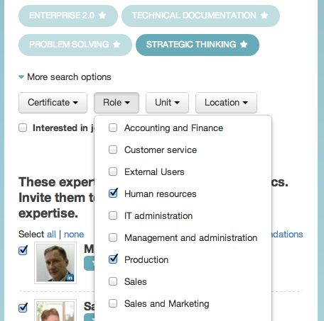 Locating the right expertise doesn't have to be difficult. #KM